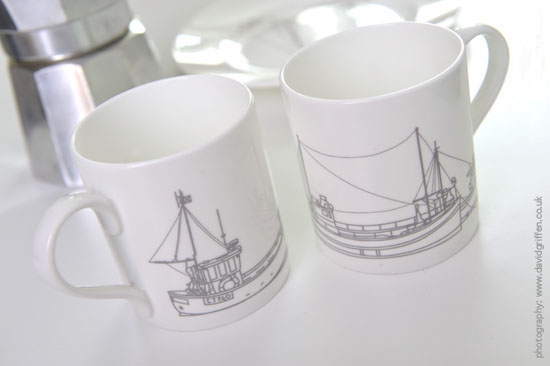 Falmouth Harbour mugs